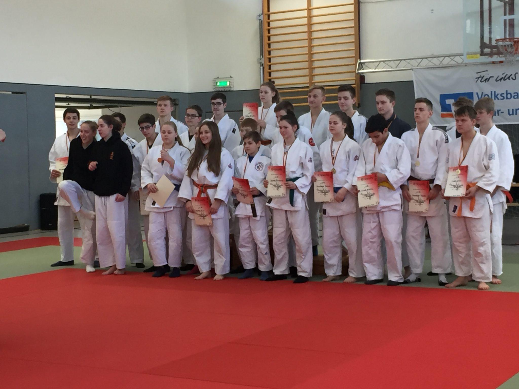 Kreiseinzelmeisterschaften der u15 und u18 in Bad Lippspringe