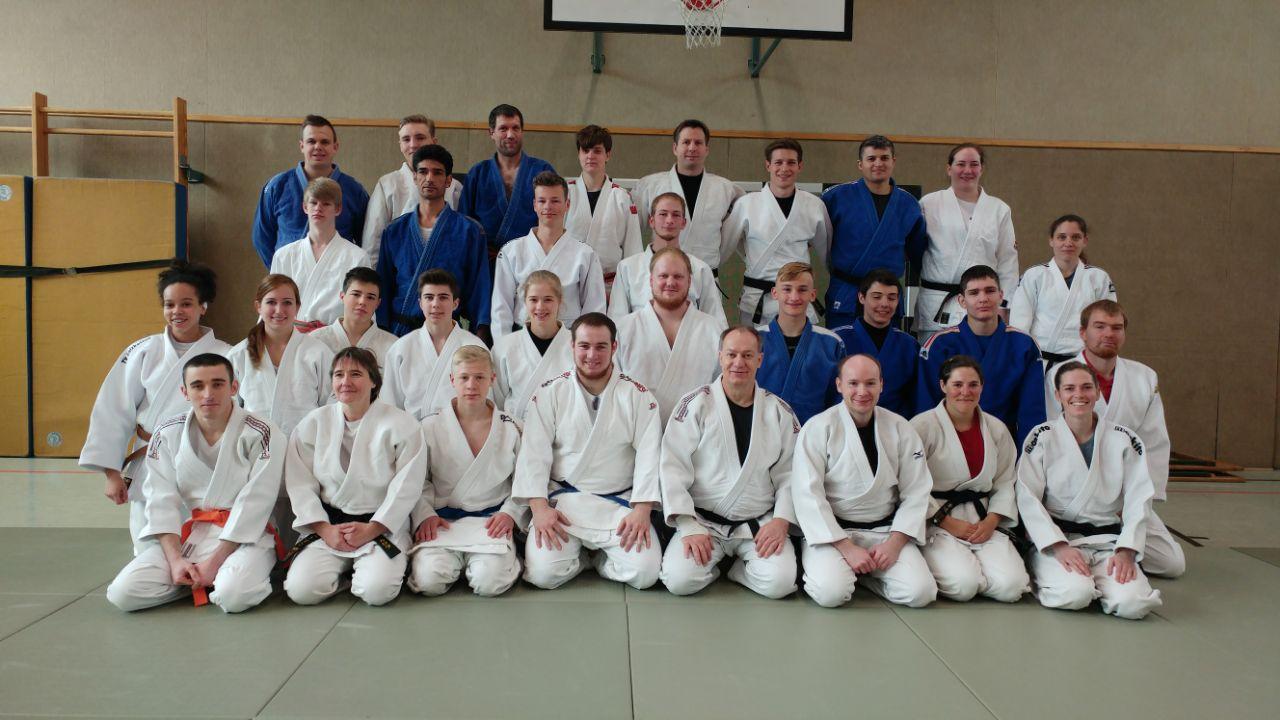 Trainingslager des Judokreises Paderborn