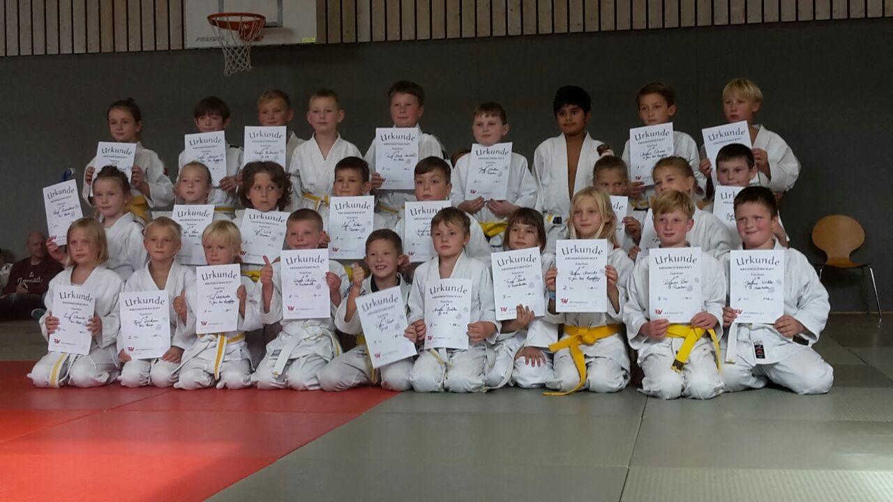 Kreiseinzelmeisterschaften U10/U13: Judoka aus Salzkotten waren sehr erfolgreich