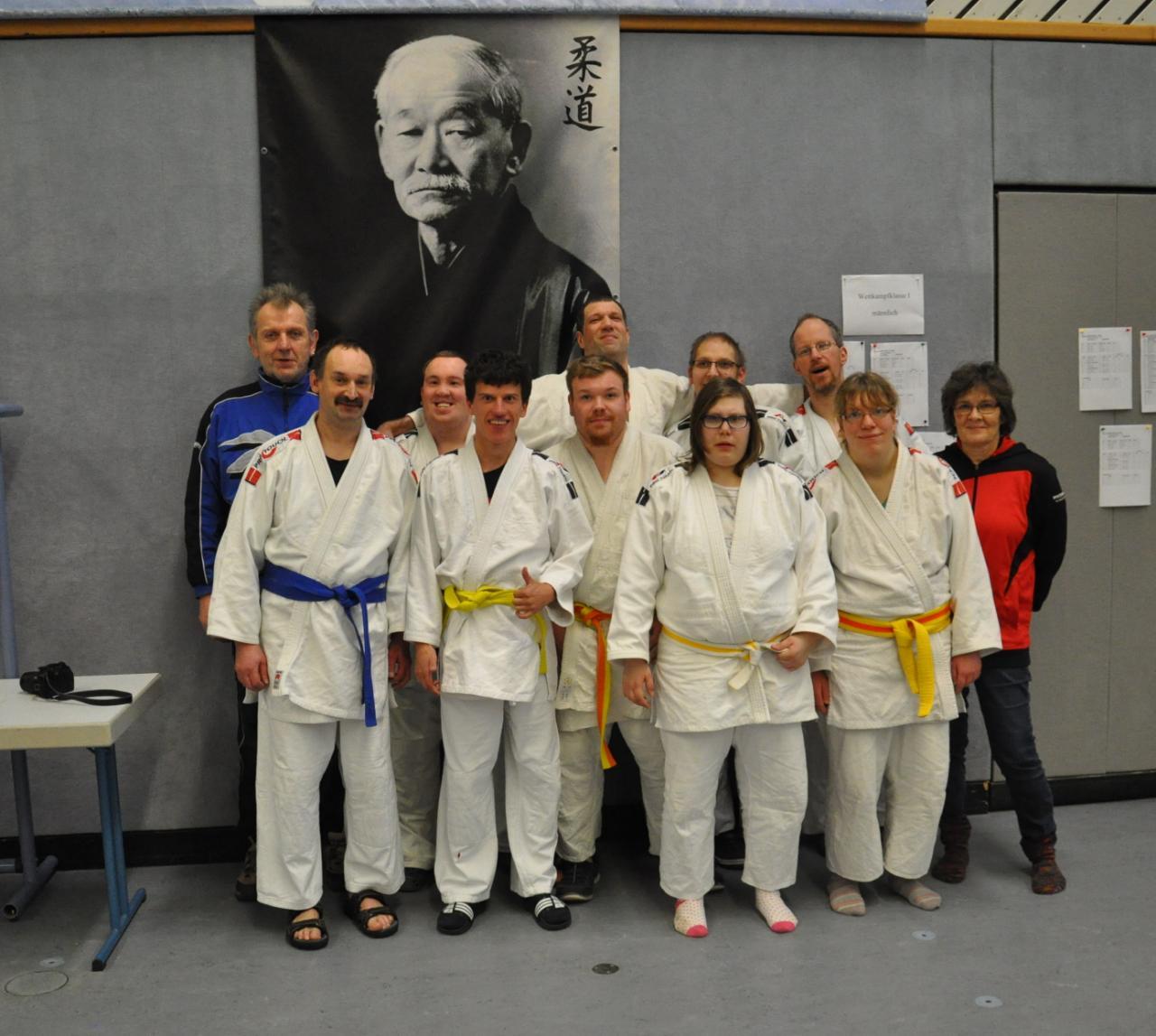 Landesmannschatsmeisterschaften der G-Judoka