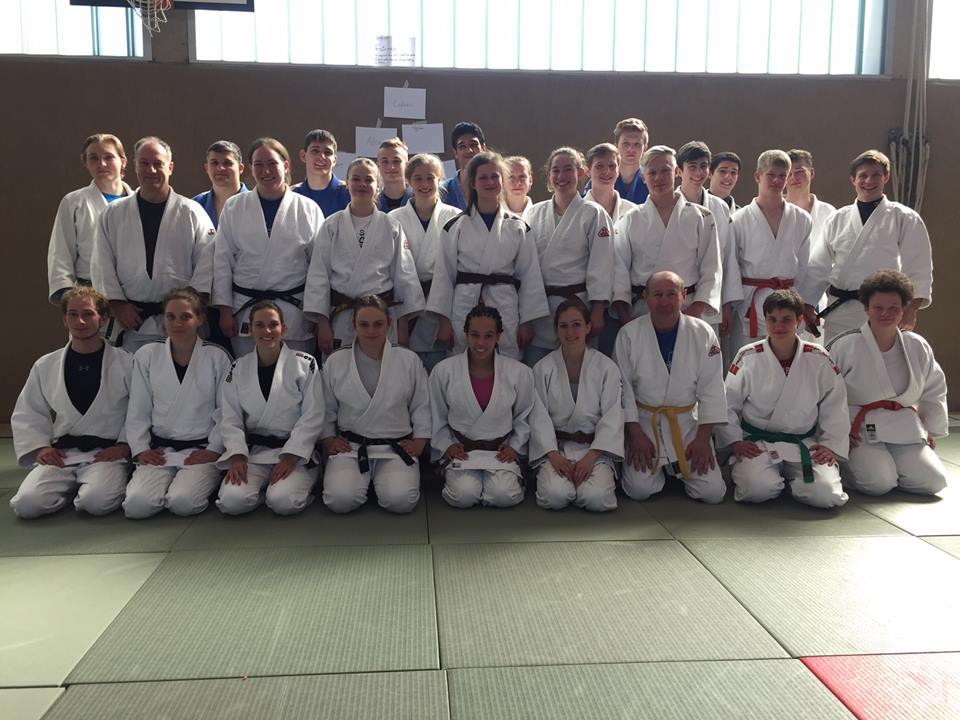 Trainingswochenende des Judokreises