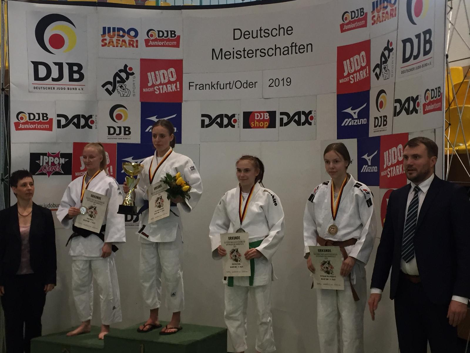 Stephi erneut 3. bei den Deutschen Meisterschaften